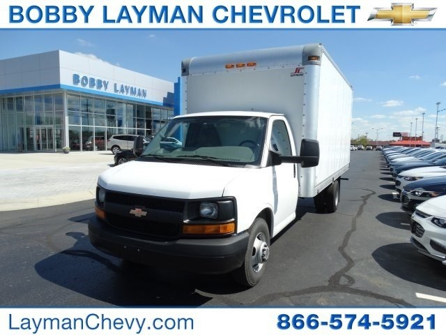 2011 Chevrolet Express Van G3500 Box Truck - Straight Truck