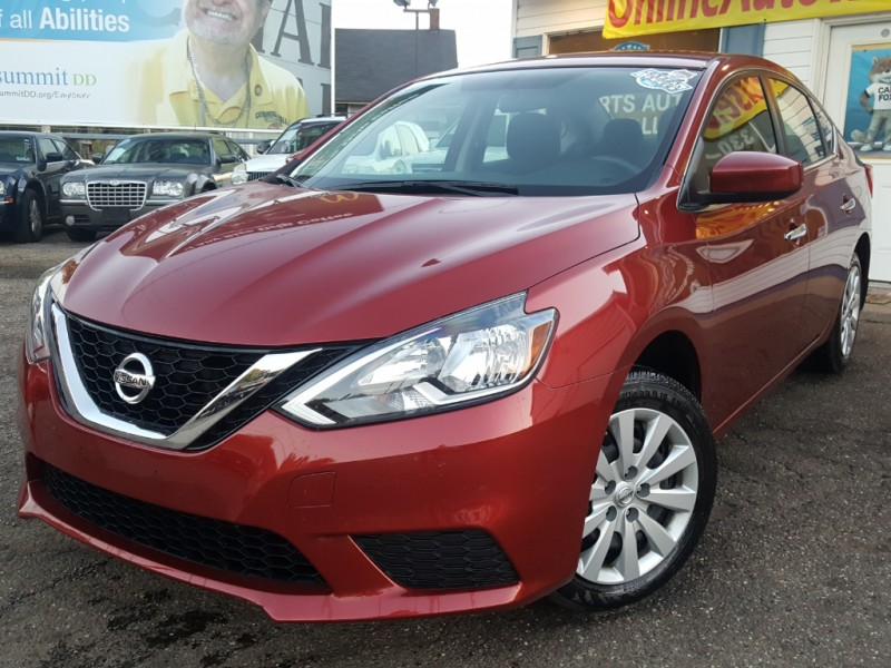 2016 *Nissan* *Sentra* SV AUTO ONE OWNER FACTORY WARRANT NEW CAR