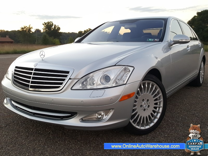 2007 Mercedes Benz S Class S550 4MATIC AWD EXTRA CLEAN FULLY LOADED