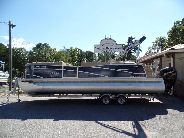 2014 Harris FloteBote Grand Mariner SEL 250