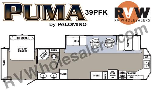 2017 Palomino Puma 39PFK