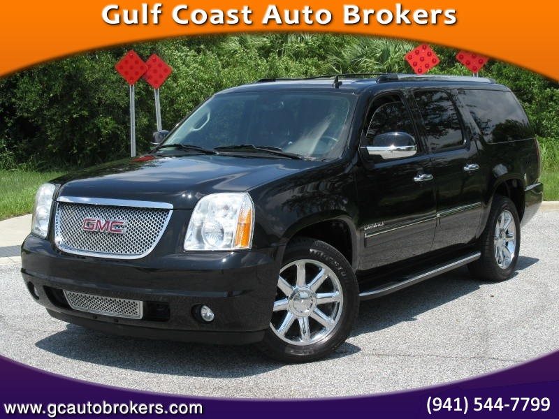 2012 GMC YUKON DENALI XL LOADED HEATED AND COOLED LEATHER SEATS REAR TV SUNROOF 1 FLORIDA OWNER !!