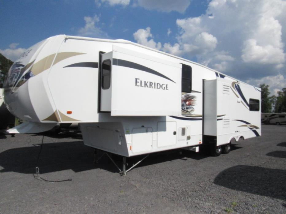Heartland elkridge 34 tsre rvs for sale for Fifth wheel with bonus room