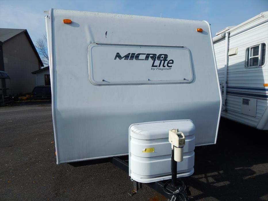 2010 Forest River Flagstaff Micro Lite 18FBR