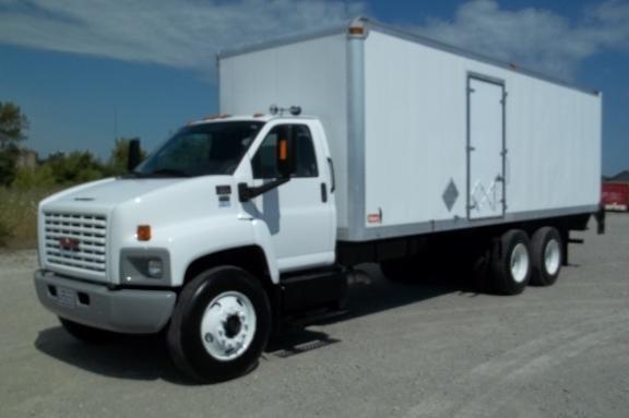 2008 Gmc C8500 Box Truck - Straight Truck