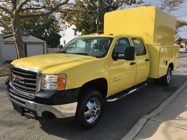 2010 Gmc Sierra K3500 Hd Crew Cab Enclosed Utilit Utility Truck - Service Truck
