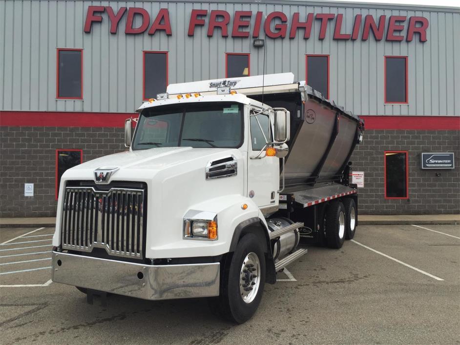 2016 Western Star 4700sb Dump Truck
