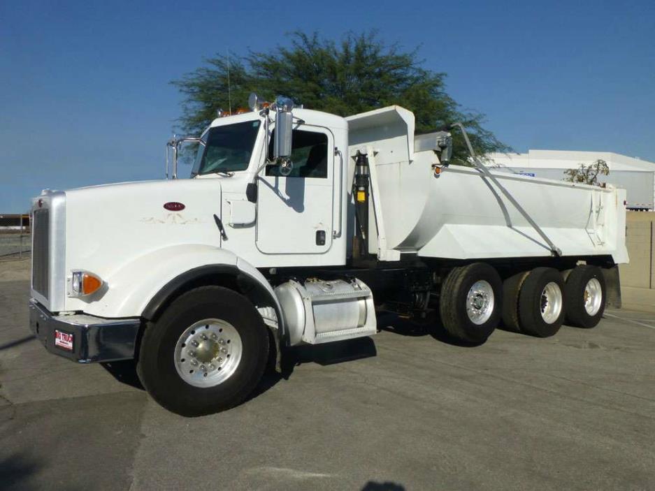 peterbilt 365 super 10 16 dump truck cars for sale. Black Bedroom Furniture Sets. Home Design Ideas