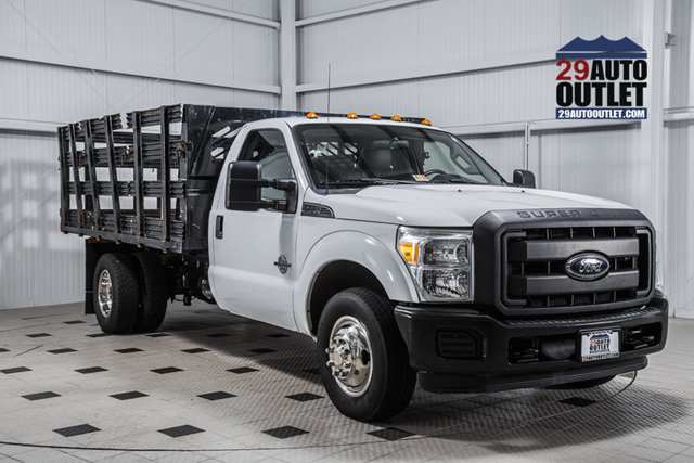2012 Ford Super Duty F-350 Drw Cab-Chassis  Landscape Truck