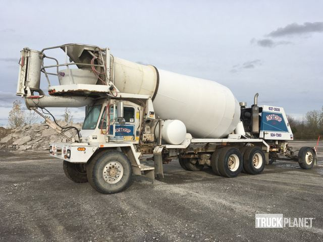 2002 Oshkosh S Series  Mixer Truck