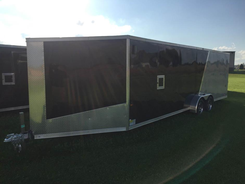 2017 US Cargo AMERALITE ADXST729TA2 (4 PLACE ENCLOSED SNOWMOBILE TRAILER)