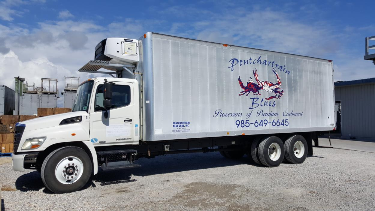 2011 Hino 268a  Refrigerated Truck