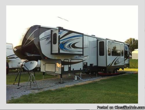2014 heartland rv cyclone 4100 king rvs for sale. Black Bedroom Furniture Sets. Home Design Ideas