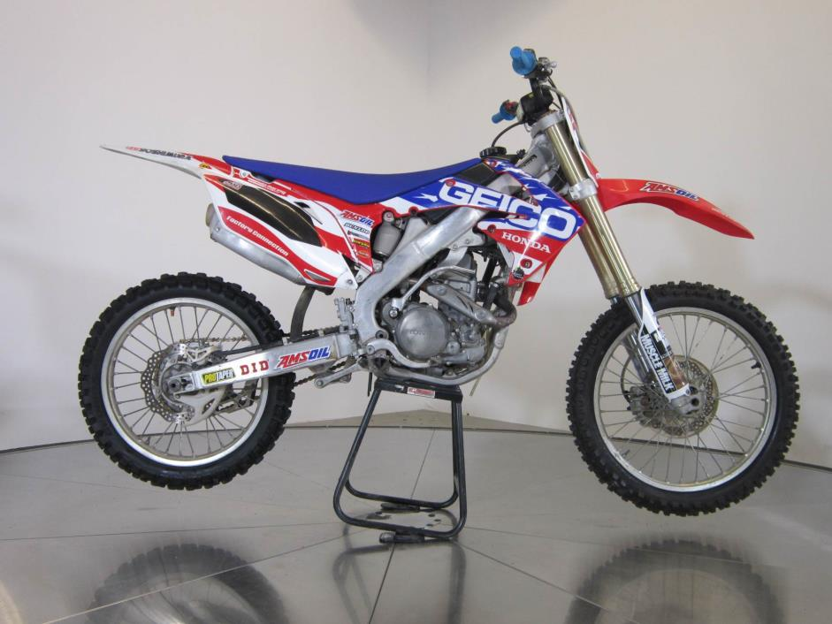 2010 Honda Crf250r Motorcycles for sale