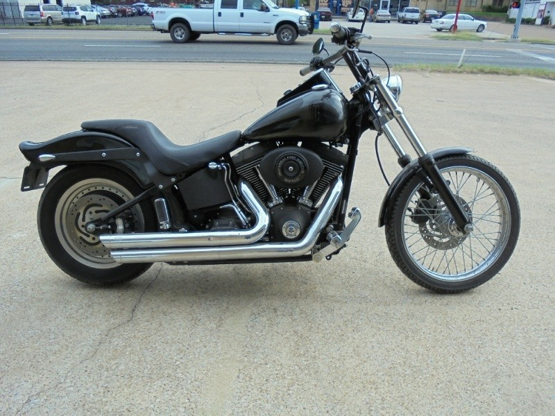 2002 HARLEY DAVIDSON FXSTI NIGHT TRAIN