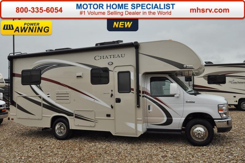 2017 Thor Motor Coach Chateau 24C RV for Sale at MHSRV W/Cabov