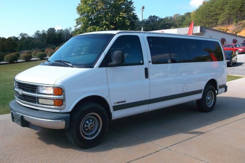 1997 Chevrolet Express Van 3500 155 WB