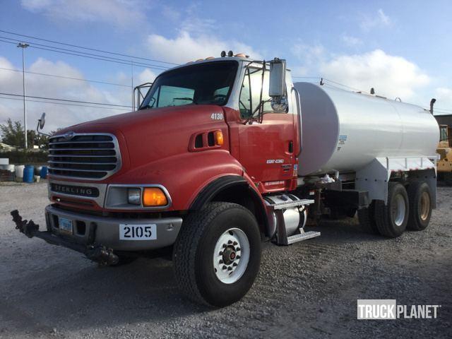 2007 Sterling Lt9500  Water Truck