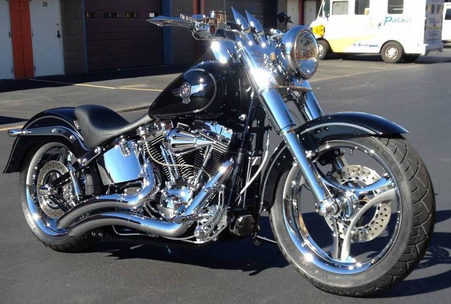 harley davidson fatboy motorcycles for sale in rhode island. Black Bedroom Furniture Sets. Home Design Ideas