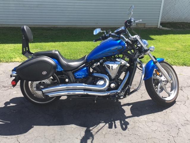 2011 yamaha v star 1300 tourer motorcycles for sale for Yamaha stryker saddlebags