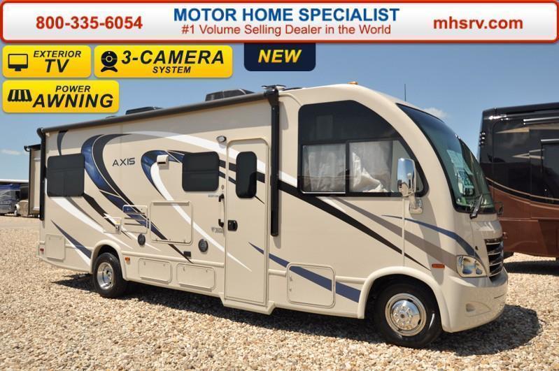 Thor motor coach axis 25 2 w slide 15 0 btu a c rvs for sale for Thor motor coach axis