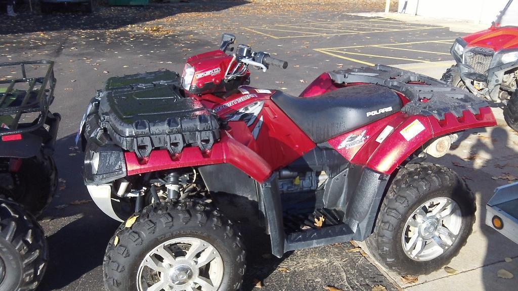 2009 Polaris Sportsman 550 Xp Efi With Eps