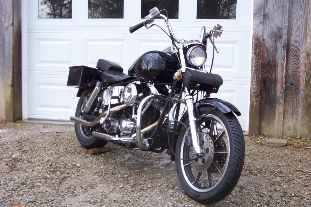 1978 harley low rider motorcycles for sale. Black Bedroom Furniture Sets. Home Design Ideas