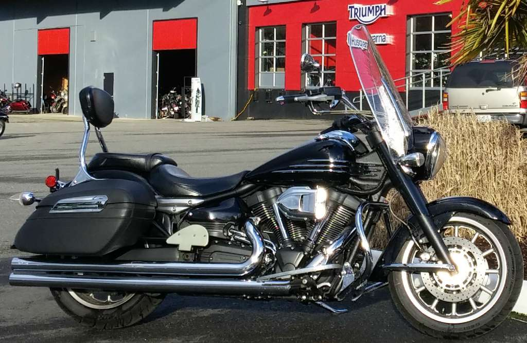 Yamaha stratoliner midnight motorcycles for sale for 2008 yamaha roadliner midnight