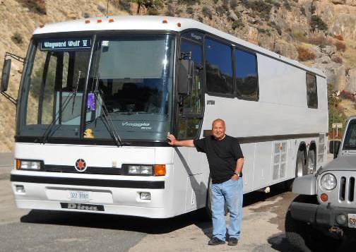 1995 Dina Conversion Bus