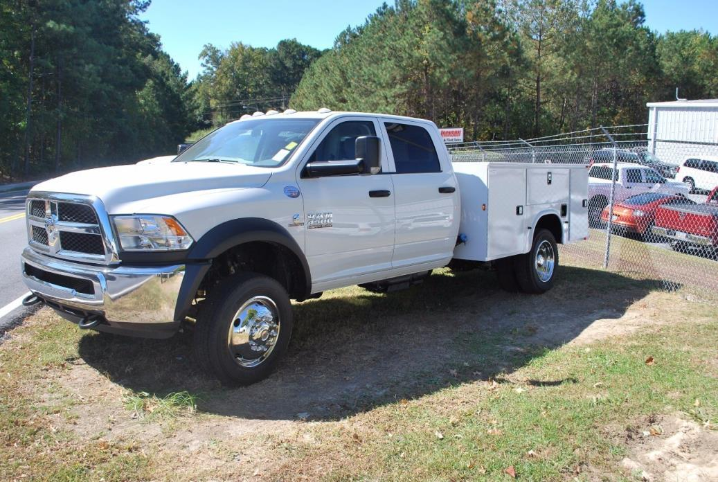 2016 Ram 4500 Chassis Cab  Utility Truck - Service Truck