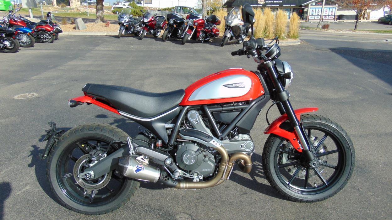 ducati scrambler 800 full throttle motorcycles for sale. Black Bedroom Furniture Sets. Home Design Ideas