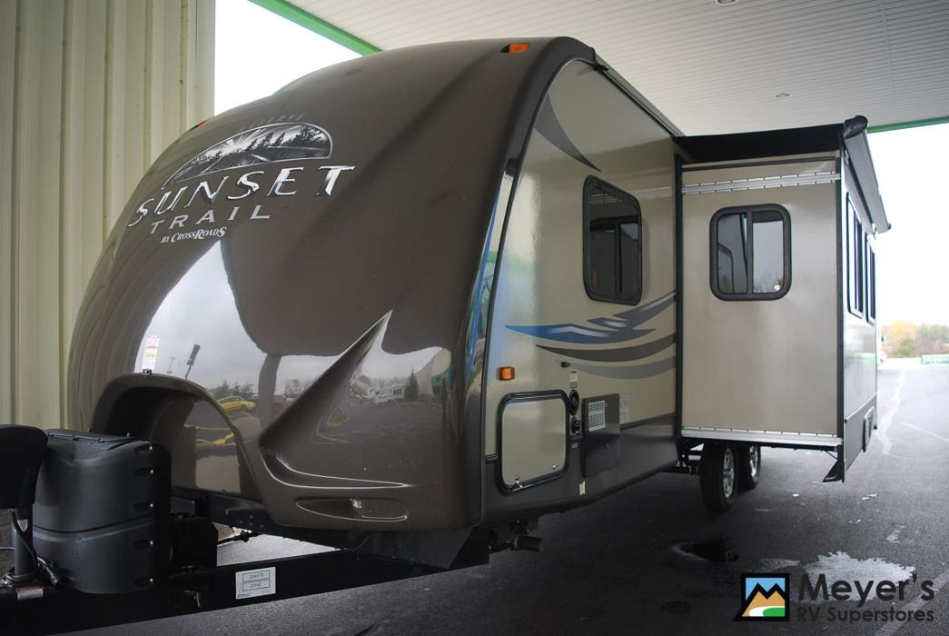 Crossroads Sunset Trail 25rb Rvs For Sale