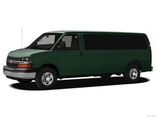 2012 Chevrolet Express 3500 Lt Extended Passenger Van Passenger Van