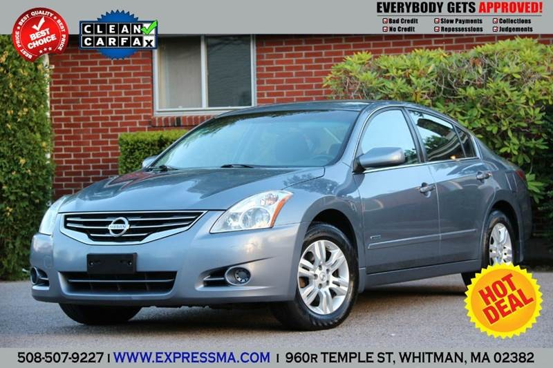 2010 Nissan Altima Hybrid Base 4dr Sedan