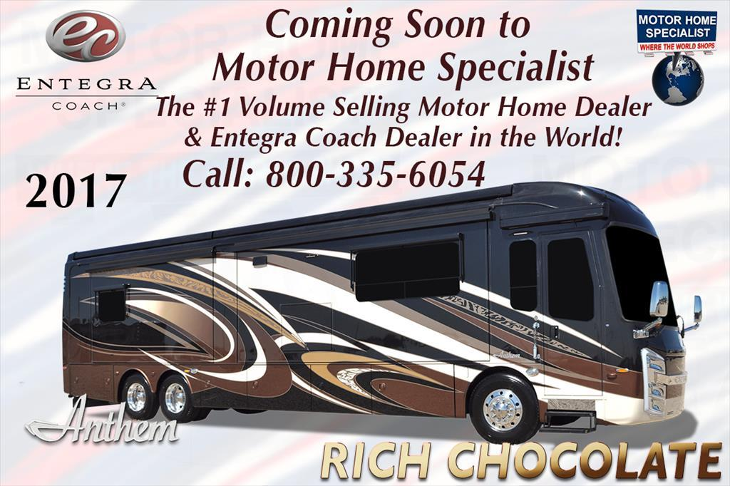 2017 Entegra Coach Anthem 42DEQ Luxury RV for Sale @ MHSRV