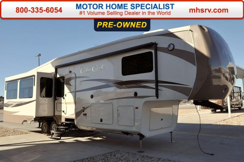 2014 Forest River Cedar Creek 36CKTS W/3 Slides