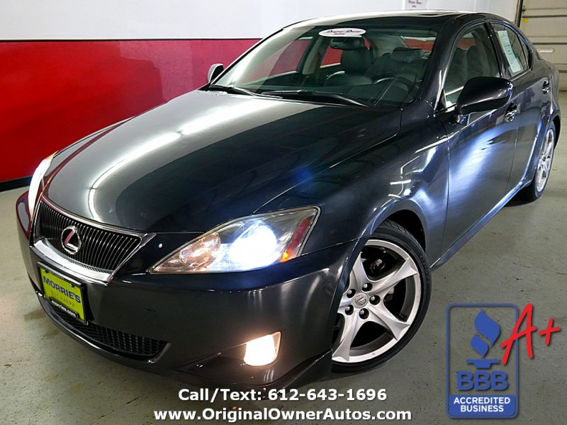2007 Lexus IS 250! X Package! 62k, 6 Speed Manual! No Accidents!