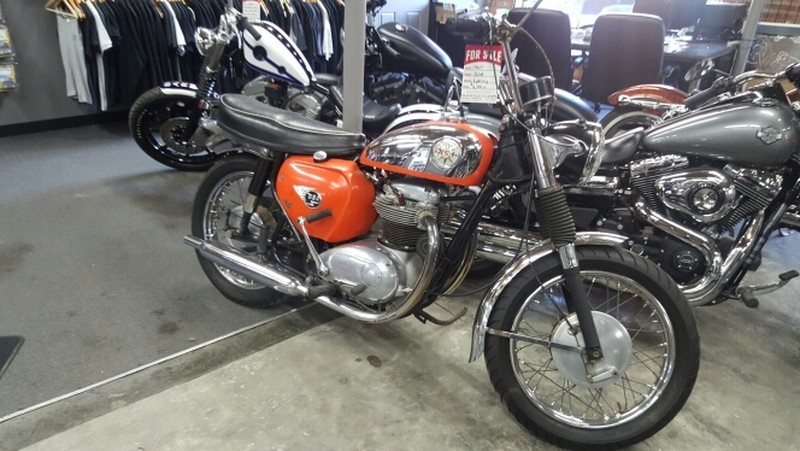 1971 BSA VICTOR 500
