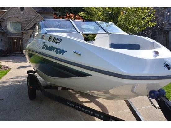 sea doo challenger boats for sale in michigan. Black Bedroom Furniture Sets. Home Design Ideas