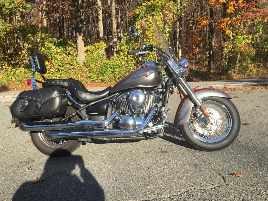 kawasaki vulcan 900 classic lt motorcycles for sale in maryland. Black Bedroom Furniture Sets. Home Design Ideas