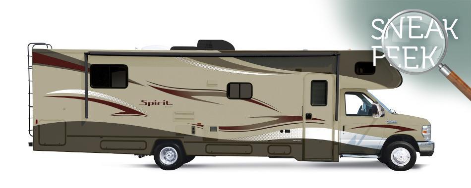 Winnebago Spirit 22R Class C Motorhome RV