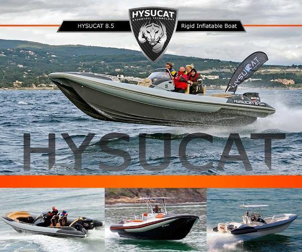 2017 Hysucat 28' RIB Catamaran