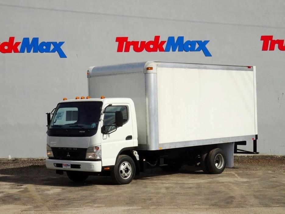 2008 Mitsubishi Fuso Fe125  Box Truck - Straight Truck