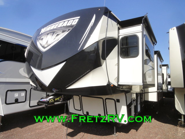 Winnebago Destination 37fl Front Living Luxury Fifth 5th Wheel Camper Trader RV