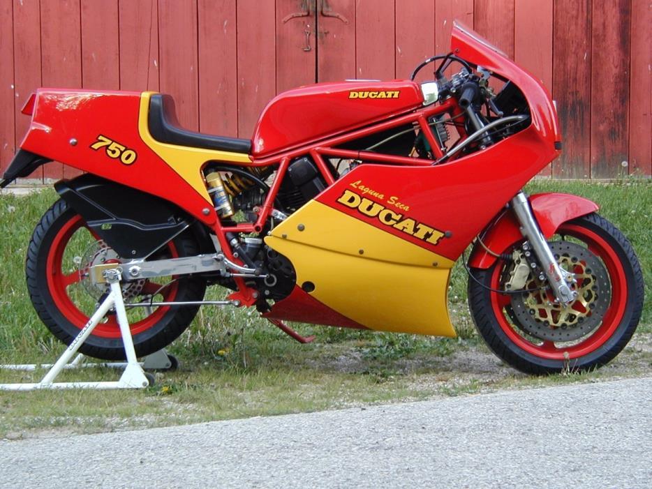 1987 Ducati F1