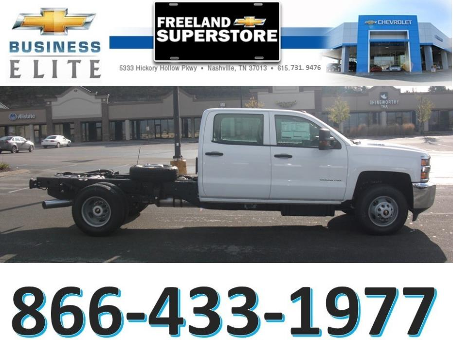 2016 Chevrolet 3500 Drw Cab Chassis