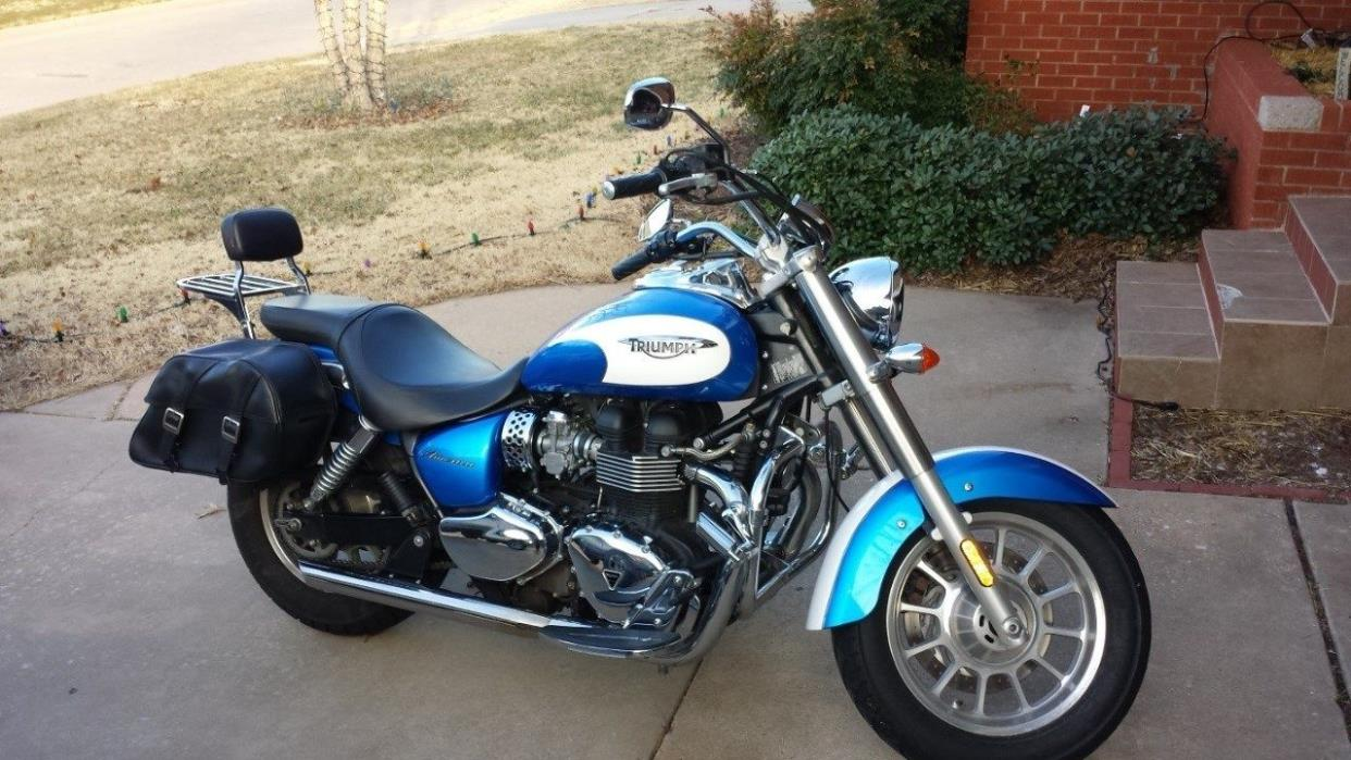 triumph america motorcycles for sale in oklahoma. Black Bedroom Furniture Sets. Home Design Ideas