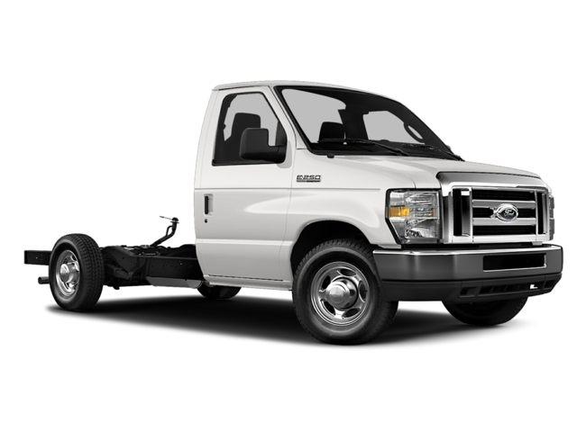 2013 Ford E-350 Cutaway  Cutaway-Cube Van