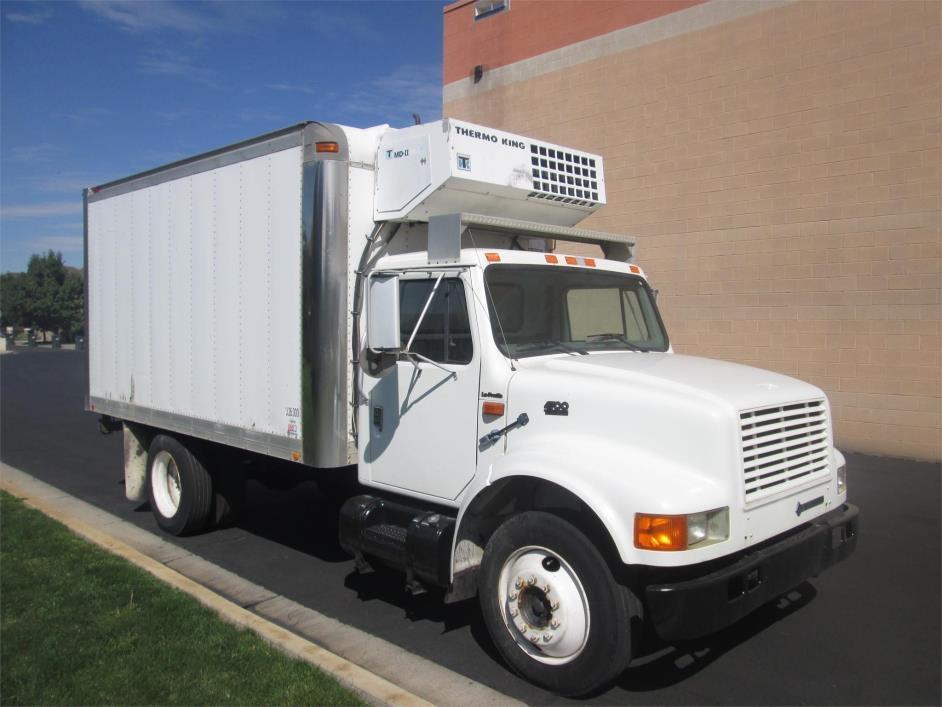 1996 International 4700  Refrigerated Truck