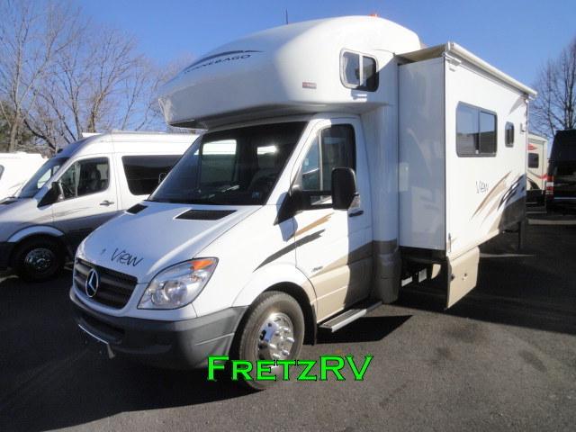 Winnebago View 24k Mercedes Diesel Motorhome Camper Coach
